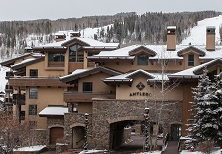 Antlers apartments Vail ski resort Colorado USA