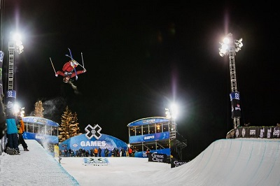 Aspen X games held at Buttermilk mountain in Aspen Snowmass