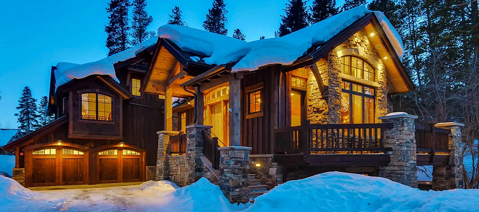 Bear Tracks luxury 6 bedroom chalet Breckenridge Colorado The States