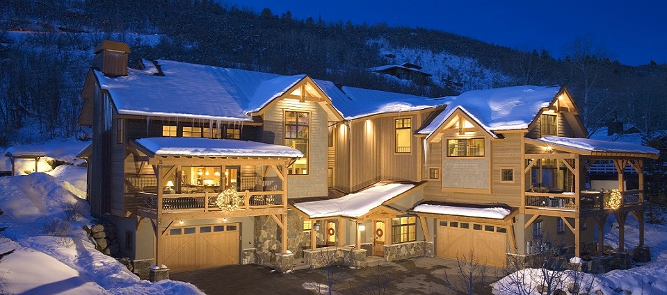 Bear chalets Steamboat Springs Black Bear & Brown Bear Chalet luxury catered or self-catered chalets USA