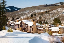 Beaver Creek ski in ski out homes at Village Walk Colorado America