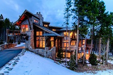 Bella Villa di Montagna Ski in, ski out luxury 7 bedroom self-catered or catered chalet with billiards, cinema, hot tub plus access to pool & private bowling alley