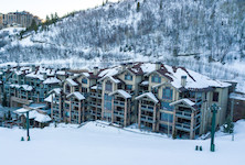 Black Diamond Deer Valley luxury ski in ski out accommodation USA banner