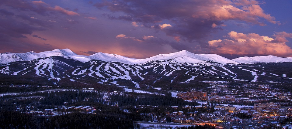 Breckenridge ski resort Colorado USA