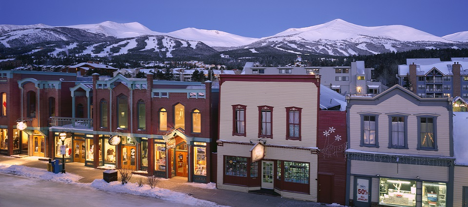 Breckenridge skiing holidays USA