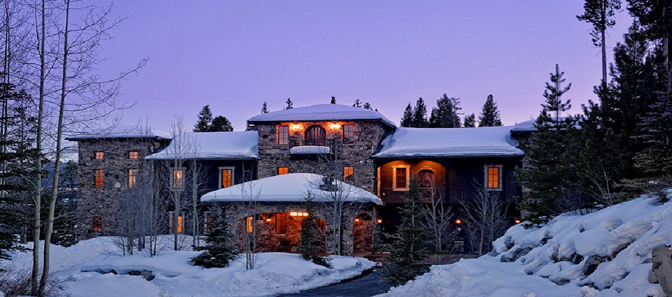 Chateau of Breckenridge ski in ski out luxury home chalet USA
