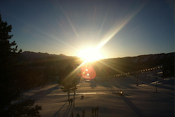 Easter sunrise service Vail