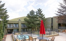 Edelweiss apartments and hotel rooms Park City America