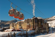 Grand Summit Park city ski in ski out apartments hotel rooms USA listing