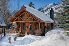 Granite ridge log cabins & large homes Jackson Hole