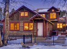 Harris House luxury 5 bedroom ski chalet in town of Breckenrige Colorado USA