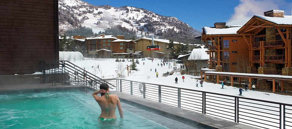 Hotel Terra Jackson Hole ski in hotel rooms & apartments USA