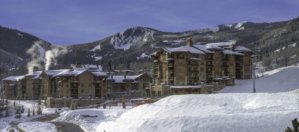 Hyatt Centric luxury hotel rooms apartments Park City USA banner