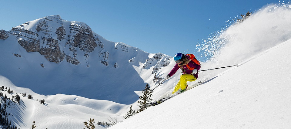 Jackson Hole skiing holidays in Jackson Hole ski resort USA