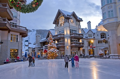 Lionshead Village Vail in Vail ski resort Colorado America