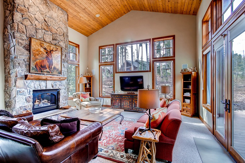 Chelsea House Breckenridge Colorado USA 6 Bedroom Rental Home Ski Chalet Sleeps 14 People