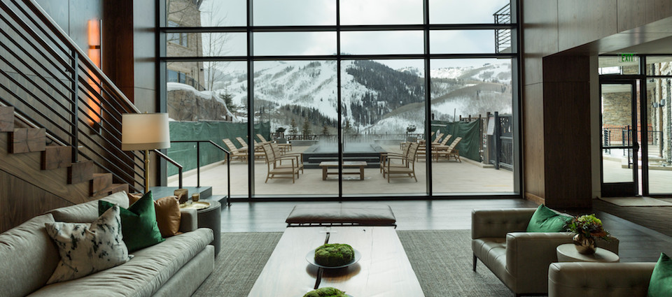 One Empire Pass Deer Valley luxury ski in ski out apartments USA