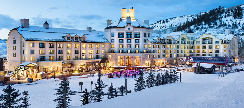 Park Hyatt Beaver Creek Colorado ski in ski out luxury hotel