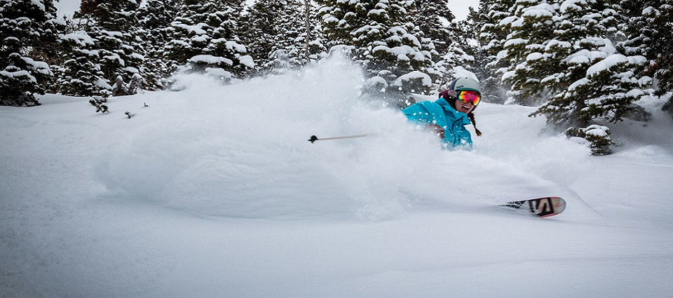 Powder snow holidays in Jackson Hole ski resort USA