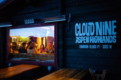Recommended restaurants in Aspen Snowmass ski resort Cloud Nine