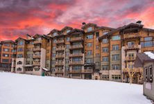 Silver Strike Lodge Deer Valley ski in ski out luxury apartments USA