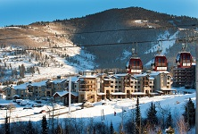 Silverado Park City self-catered apartments Canyons Base Village Park City ski resort listing