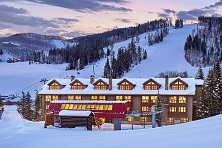 Ski in ski out hotel and apartments Beaver Creek ski resort America