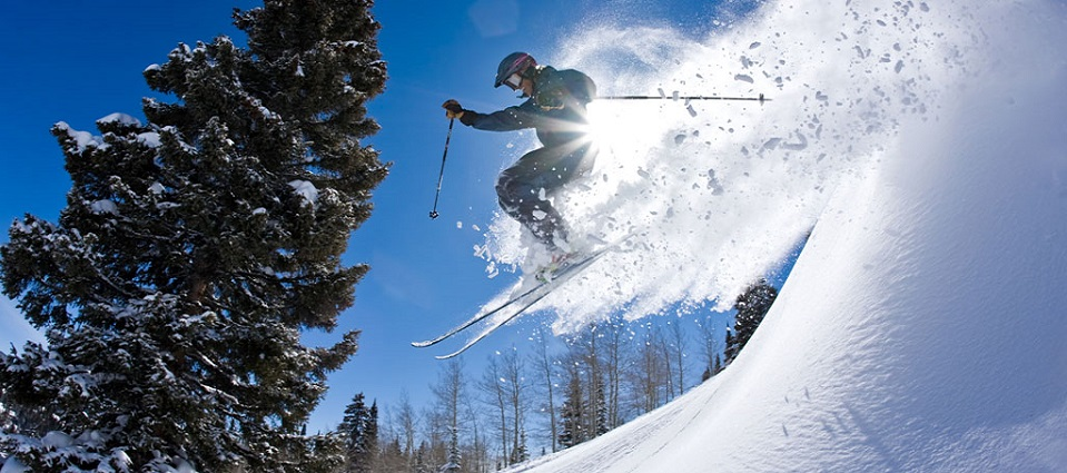 Skiing holidays USA in Steamboat Springs ski resort powder