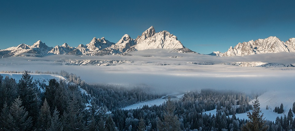 Skiing holidays in Jackson Hole ski resort USA