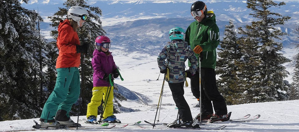 Skiing holidays in Steamboat Springs Colorado USA