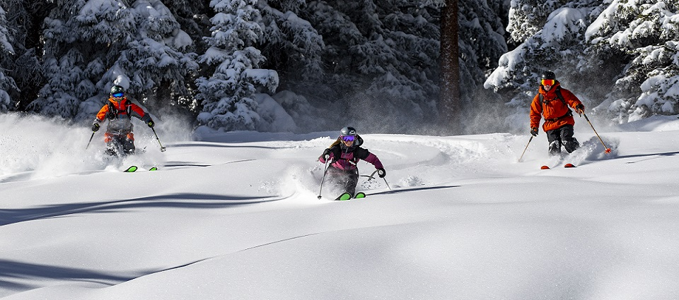 Snow ski holidays in Aspen Snowmass ski resort America