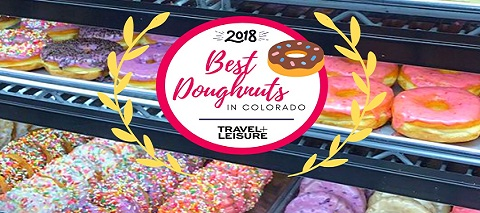 Snowmass base village restaurant donuts from Sweet Coloradough
