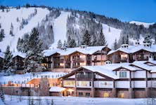 Stein Eriksen Lodge Deer Valley ski resort Utah USA