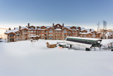The Grand Lodge Deer Valley luxury ski in ski out USA accommodation listing