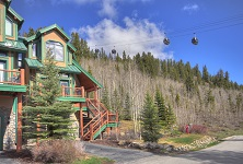 The Woods 4 bedroom townhomes Breckenridge Colorado USA townhomes listing