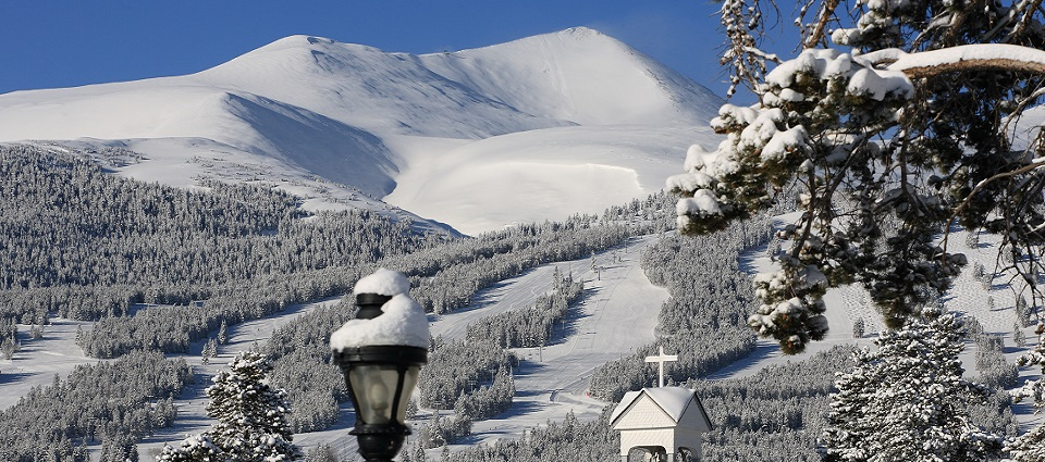 USA ski holidays in Breckenridge ski resort Colorado