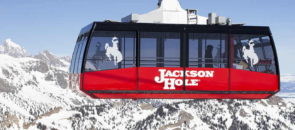 USA skiing holidays in Jackson Hole ski resort Wyoming America