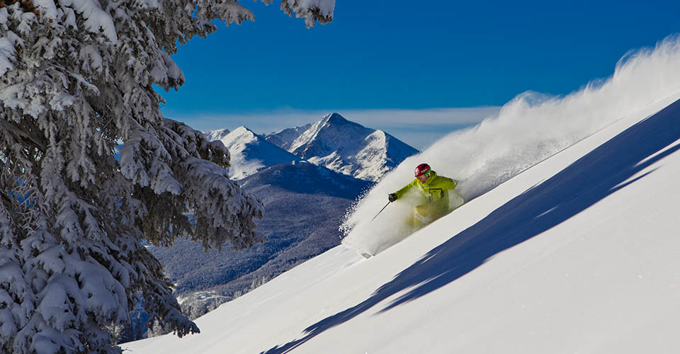 USA ski holidays in catered chalets self-catered apartments homes hotels