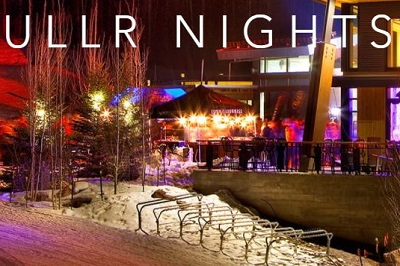 Ullr nights mountain top family activity in Snowmass ski resort