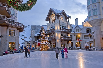 Vail ski resort Colorado America for snow skiing holidays