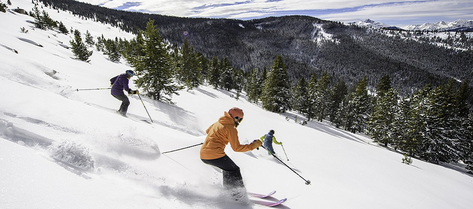 Vail skiing holidays family ski trip Colorado America