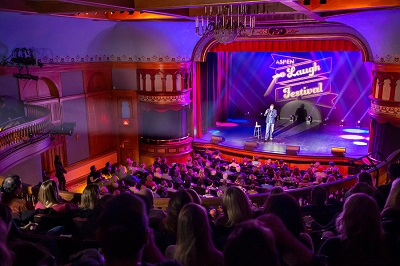 Wheeler Opera House in downtown Aspen comedy show