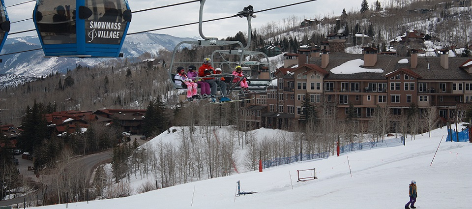 Woodrun Place Aspen Snowmass ski in ski out accommodation banner