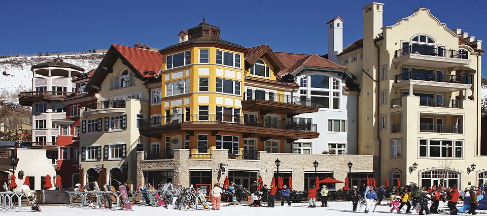 The Arrabelle Hotel at Vail Square, Vail luxury ski in ski out apartments & hotel rooms Vail USA