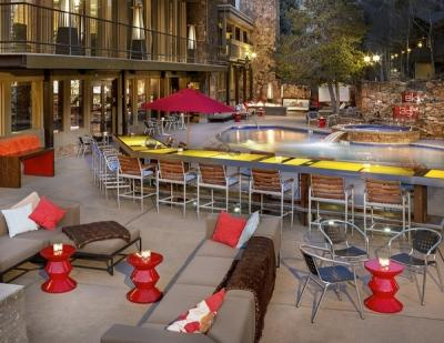 The Sky Hotel, Aspen, Colorado USA. Ski holidays in hip Aspen hotel, ski in & centre of Aspen