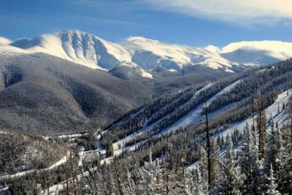 Skiing holidays in Winter Park ski resort Colorado America