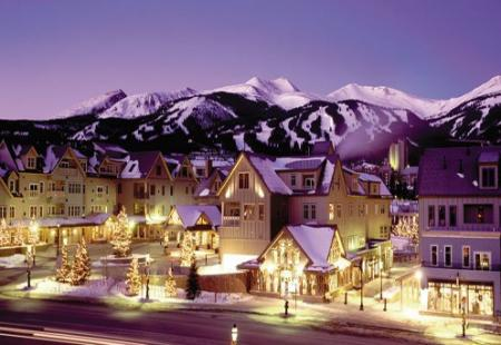 Breckenridge skiing holidays for Christmas & New Year USA
