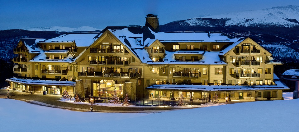 Crystal Peak Lodge Breckenridge luxury ski in ski out apartments USA