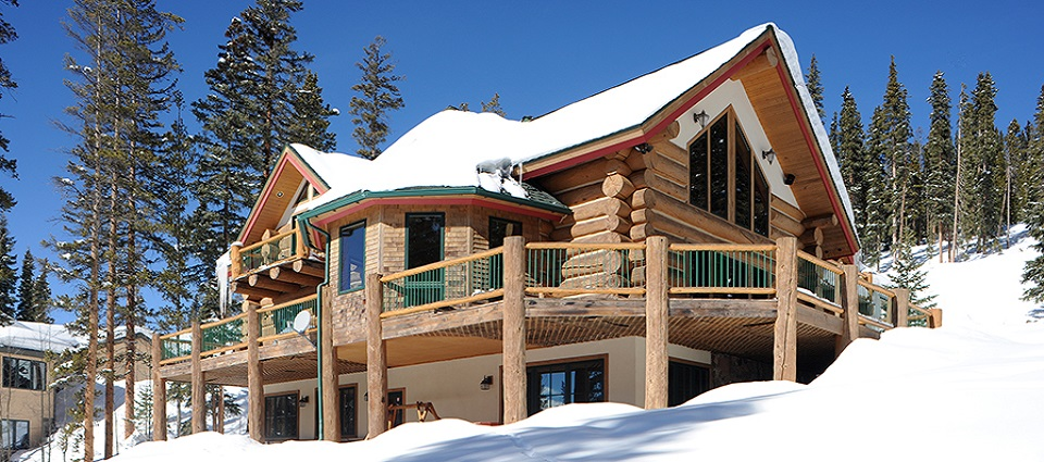 Paradise Meadow Lodge Breckenridge luxury private family home ski Colorado USA