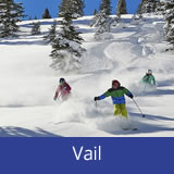 Vail skiing holidays USA